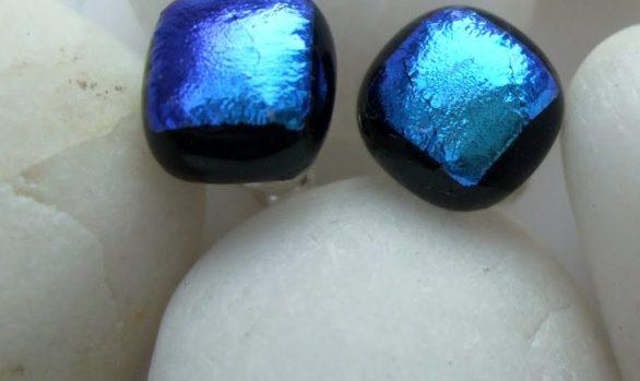 Earrings Blue/Teal