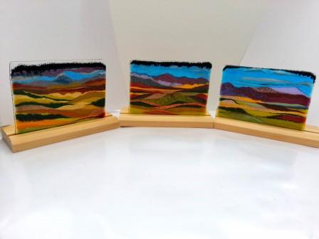 Glass Landscape scenes